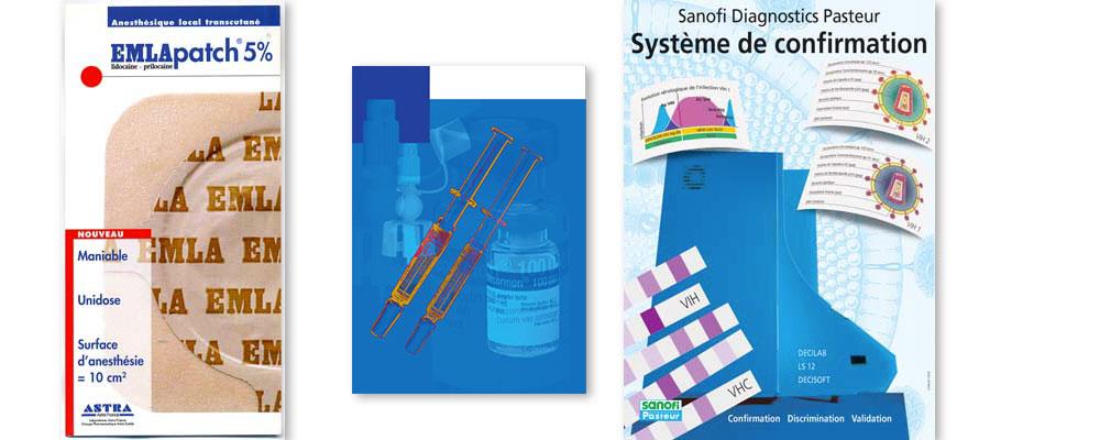 Edition de document pour différents laboratoires pharmaceutiques